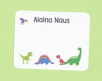 Dinosaur Cards - Great for Boys and Girls Thank You Cards