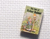 Needle Minder Miniature Book The Tale of Peter Rabbit 1 Inch