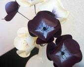 Grape Shimmer Anemone Paper Flower Bouquet, Paper Flowers, Home Decor, Paper Art, Handmade Flowers, Table Decor, Wedding Decoration