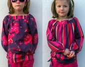 Sale Half Price Berry Upcycled Jane Blouses Age 6/7