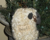primitive Sheep Ornament Bowl filler