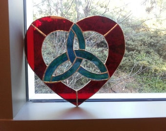 Large Heart with Triquetra