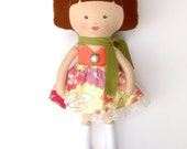 Lulu the Large Dress up Rag Doll Paris France