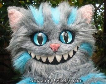 "26"" Cheshire Cat Plush - Made to Order"