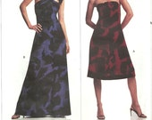 Vogue 2740 / Designer Sewing Pattern Gown By Michael Kors / Dress Gown / Sizes 14 16 18