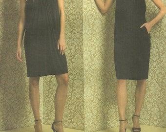 Vogue 1012 // Designer Sewing Pattern By Donna Karan // Dress // Size 6 8 10 12