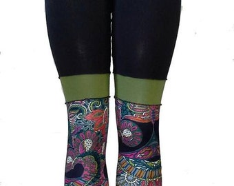 Patchworked Leggings