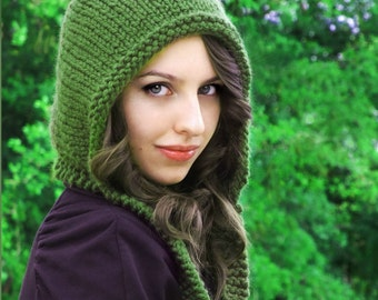 Knitting PATTERN-Adult Pixie Hat