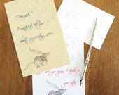 Rat Letterhead *Digital Download* (for NORTH AMERICAN paper sizes)