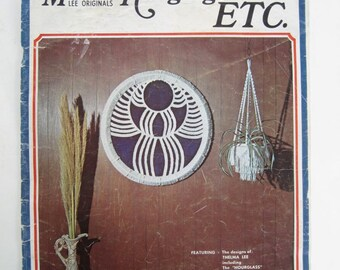 Macrame Home Decor Pattern Book - Macrame Plant Hanger Patterns