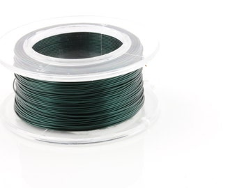 25% OFF!! WIRE - 26g (AWG) Teal - Enamel Copper Wire - 30 yard spool.