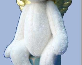 Angelo Christmas Angel Miniature Bear PDF pattern only