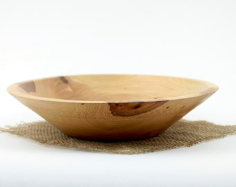 Wooden Elm Bowl Hand turned