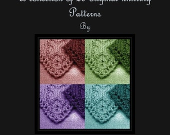 Ebook Charming Knits 20 knitting patterns Instant Download gloves wrap pouch wristlet