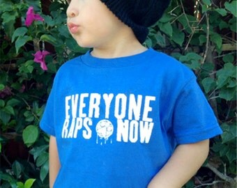 """Pawz One Official """"everyone raps now"""" Toddler shirt or One Piece - ON SALE!"""