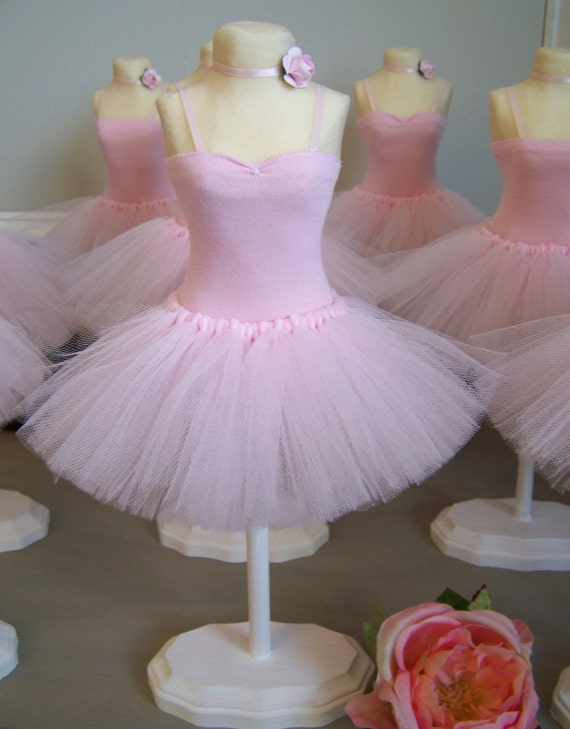 Ballerina centerpiece 1 piece per order by favorsbygirlybows for Ballerina party decoration