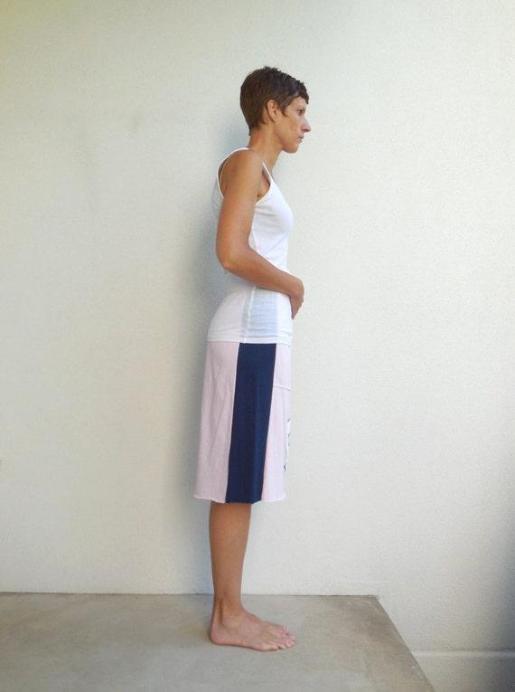 Tar Heels University of North Carolina T Shirt Skirt Women's T-Shirt Skirt Recycled Tee Skirt Handmade Skirt Cotton Skirt Sports Skirt ohzie