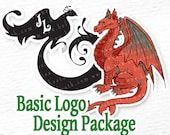 CUSTOM LOGO DESIGN - Basic Package- Digital Art, Custom Art, Commissioned Art, Logo Art, Vector Logo,Mascot