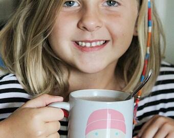 Custom Portrait Cocoa Mug