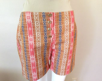 Vintage Charm-Togs Button-Fly Shorts Short Pants 1970s