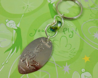 NEW Disneyland - PETER PAN Key Chain - Pressed Quarter - Limited Edition