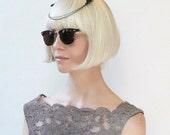 Taxidermy Headdress Black Squirrel feet and Gunmetal chain Hair clips Crown accessories