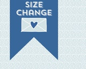 Printable Size Change - Add On