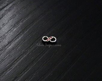 Infinity Floating Locket charm / Floating infinity locket charm  / Memory Locket Charms