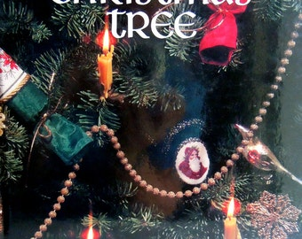 O Christmas Tree Cross Stitch Pattern Book- Leisure Arts Publication Book Four Christmas Remembered- Hardback Cross Stitch Book