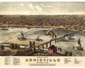 Digital Print, Louisville, Octopus Tentacles, Kentucky, Louisville KY, Cthulhu, Giant Squid, Louisville art, Geekery, Alternate Histories