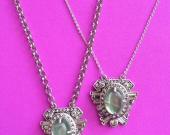 Long Art Deco Necklace