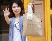 Tote Bag Cat Paw