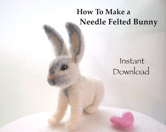 Needle Felting Tutorials. Needle Felting Animals. Needle Felting Patterns. Needle Felting Book. How to Needle Felt. Needle Felting Bunnies