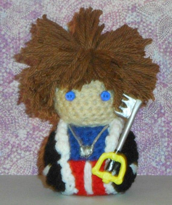 Kingdom Hearts Amigurumi Dolls