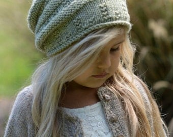 KNITTING PATTERN-The Ceydar Cap (Toddler, Child, Adult sizes)