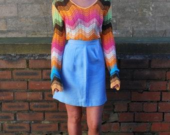 RARE Amazing Vintage Missoni Signature Knit Top Size 12/14