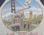 JOURNEY vintage 1981 San Francisco tour T SHIRT