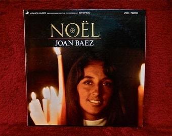 Christmas...Joan Baez - Noel - 1966 Vintage Vinyl Record Album