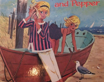 Tammy and Pepper by Kathryn Hitte - 1964       vintage children's book
