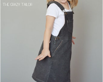 Oopsy Daisy Overalls Jumper: Jumper Sewing Pattern, Jumperalls, Overalls Jumper Pattern