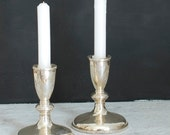 Silver Candlesticks, Sterling Silver Candle Holders