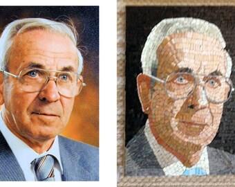 Custom Mosaic Portrait