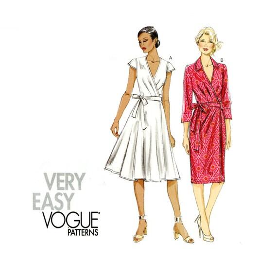 Vogue V8784 Wrap Dress Pattern
