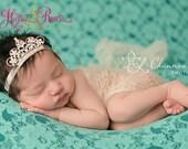 Baby Headbands.Tiara Headband.Baby Girl Headbands.Princess Headband.Hairbow.Newborn Headband.InfantToddler.Baby Girl.Headbands.Baby Bow