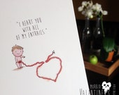 """Morbid Valentine - """"I heart you with all of my entrails."""""""