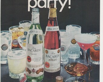 an analysis of the advertisement for bacardi and diet cola