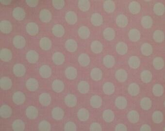 Pink and White Polka Dot Fabric Finders polkadot  FFPDF