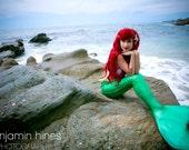 8x10 Little Mermaid Inspired Photo Print (Traci Hines)
