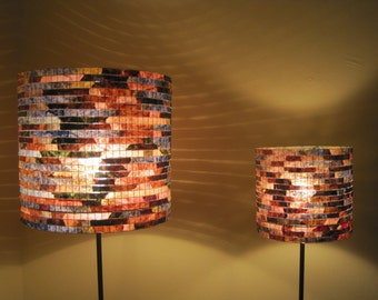 Lighting Lamp Shade Table Lamp Lampshade Set Matching Lamps Coffee Filter Art Lampada