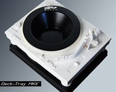 Deck-Tray MKII - White - Technics Inspired Turntable Sculpture Tray by Sku Style